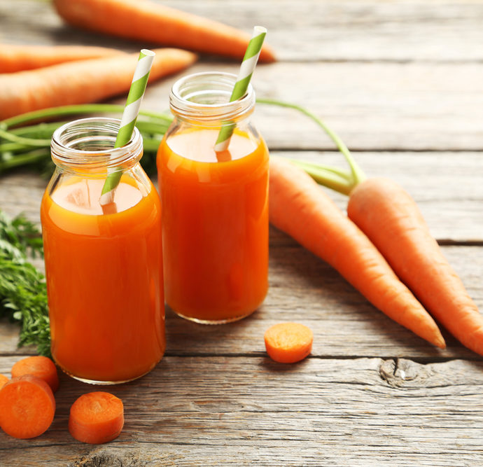 Karottensaft – Pur oder als Basis zum Mischen