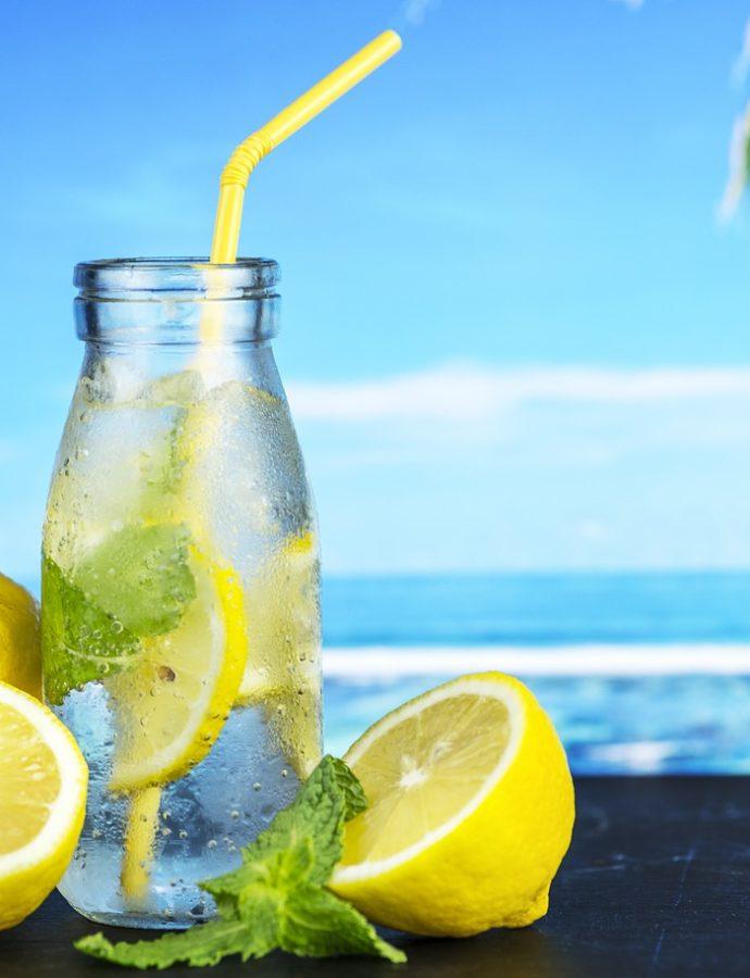 Zitronen-Limonade selber machen