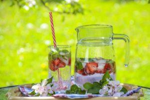 Erdbeere Salbei Infusion Water