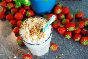 Strawberry Honey Shake